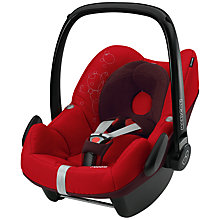 Buy Maxi-Cosi Pebble Infant Carrier, Intense Red Online at johnlewis.com