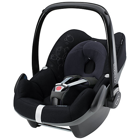 Buy Maxi-Cosi Pebble Infant Carrier, Total Black Online at johnlewis.com