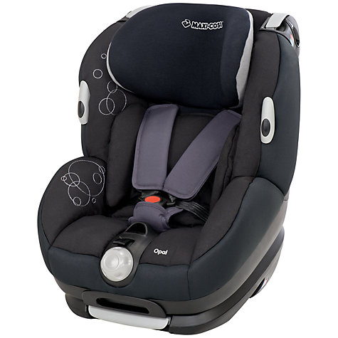 Buy Maxi-Cosi Opal Car Seat, Total Black Online at johnlewis.com