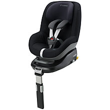 Buy Maxi-Cosi Pearl Car Seat, Total Black Online at johnlewis.com