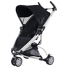 Buy Quinny Zapp Xtra Pushchair, Rocking Black Online at johnlewis.com