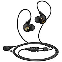 Buy Sennheiser IE 60 Professional In-Ear Headphones, Black Online at johnlewis.com