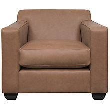 Buy John Lewis Pierre Armchair, Tobacco Leather Online at johnlewis.com