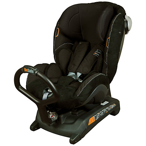 Buy BeSafe iZi Combi X3 Isofix Car Seat, Black/Alcantara Online at johnlewis.com