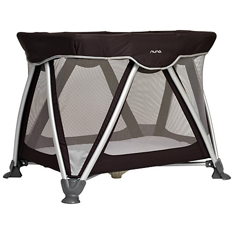 Buy Nuna Sena Mini Travel Cot, Black Online at johnlewis.com