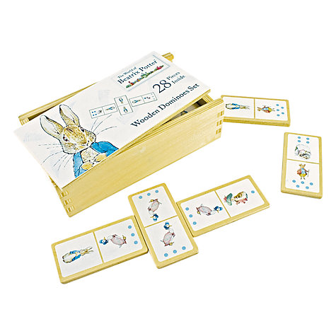 Buy Peter Rabbit Domino Set Online at johnlewis.com