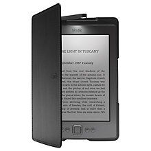 Buy Amazon Leather Cover with Built-in Light for Kindle 4 & 5, Black Online at johnlewis.com