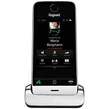 Buy Gigaset SL910A Digital Telephone with Answering Machine, Single DECT, Black Online at johnlewis.com
