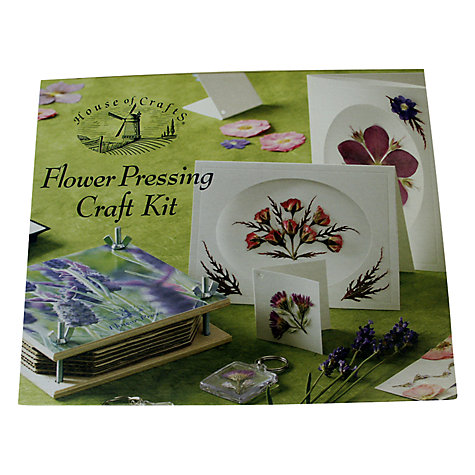 Buy House of Crafts Flower Pressing Kit Online at johnlewis.com