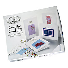 Buy House of Crafts Creative Card Kit Online at johnlewis.com