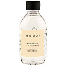 Buy True Grace Diffuser Refill, Sandalwood & Gingergrass, 250ml Online at johnlewis.com