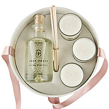 Buy True Grace Diffuser & Votives Gift Set, Morrocan Rose Online at johnlewis.com