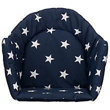 Buy NG Baby Highchair Insert, Navy Online at johnlewis.com