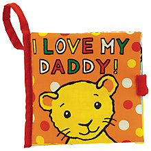 Buy Jellycat I Love My Daddy Fabric Book Online at johnlewis.com