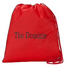 Buy The Dominie PE Bag, Red Online at johnlewis.com