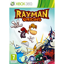 Buy Rayman Origins, Xbox 360 with 800 Live Points Online at johnlewis.com