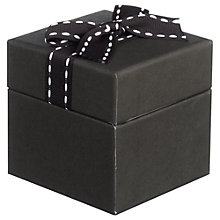 Buy John Lewis Jewellery Gift Box, Black Online at johnlewis.com