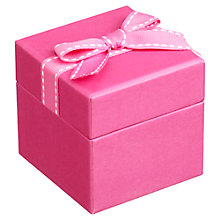 Buy John Lewis Jewellery Gift Box, Pink Online at johnlewis.com