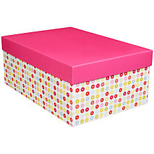 Buy John Lewis Daisy Gift Box, Medium Online at johnlewis.com