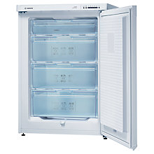 Buy Bosch GSV16PW20G Freezer, A+ Energy Rating, 60cm Wide, White Online at johnlewis.com