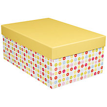 Buy John Lewis Daisy Gift Box, Small Online at johnlewis.com