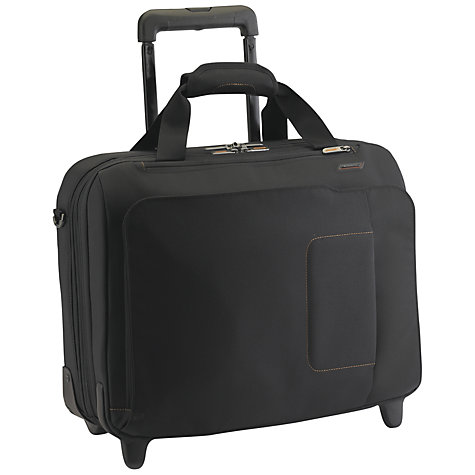 Buy Briggs & Riley Verb Roam 17 Inch Rolling Laptop Case, Black Online at johnlewis.com