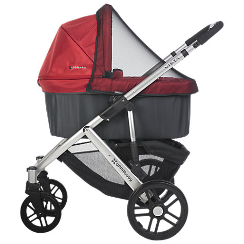 Buy Uppababy Vista Pushchair, Denny Red Online at johnlewis.com