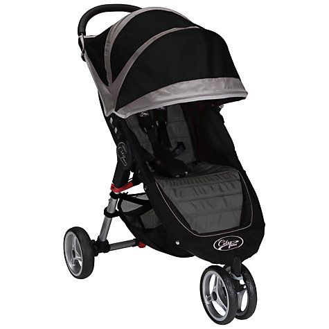 Buy Baby Jogger City Mini 3 Wheeler, Black Online at johnlewis.com