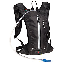 Buy Asics Lightweight Running Backpack, Black Online at johnlewis.com