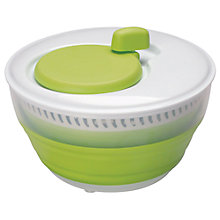 Buy John Lewis Small Collapsible Salad Spinner Online at johnlewis.com