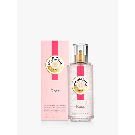 Buy Roger & Gallet Rose Fragrant Water, 100ml Online at johnlewis.com