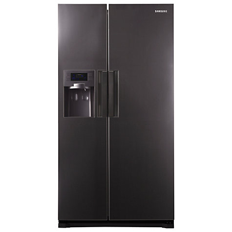 Buy Samsung RSH7UNMH American Style Fridge Freezer, Dark Silver Online at johnlewis.com