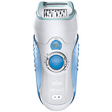 Buy Braun 7871 Wet & Dry Dual Epilator Online at johnlewis.com