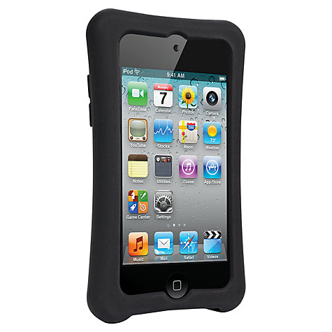 Buy Built NY Ergonomic Silicone Soft Case for iPod Touch, Black Online at johnlewis.com