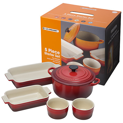 Buy Le Creuset Mixed Starter Cookware Set Online at johnlewis.com