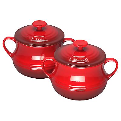 Le Creuset Stoneware Soup Bowls, Set of 2