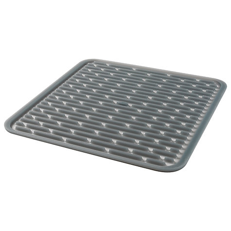 Buy OXO Good Grips Silicone Drying Mat, Grey Online at johnlewis.com