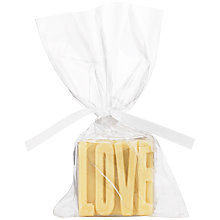 Buy Chocolate on Chocolate Love Favour White Chocolate, 22g Online at johnlewis.com