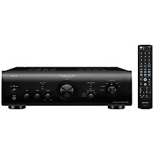 Buy Denon Amplifier PMA-1510AE, Black Online at johnlewis.com