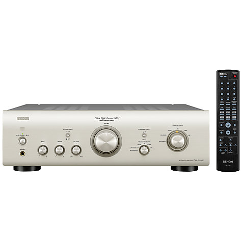 Buy Denon Amplifier PMA-1510AE, Silver Online at johnlewis.com