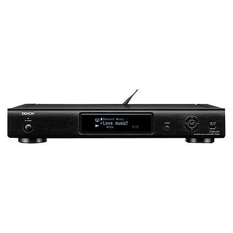 Buy Denon DNP720 Network Audio Player, Black Online at johnlewis.com