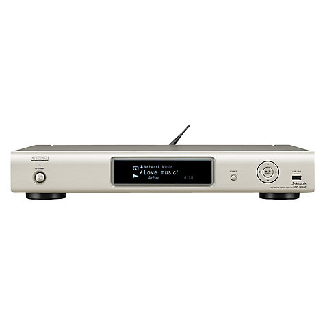 Buy Denon DNP720 Network Audio Player, Silver Online at johnlewis.com