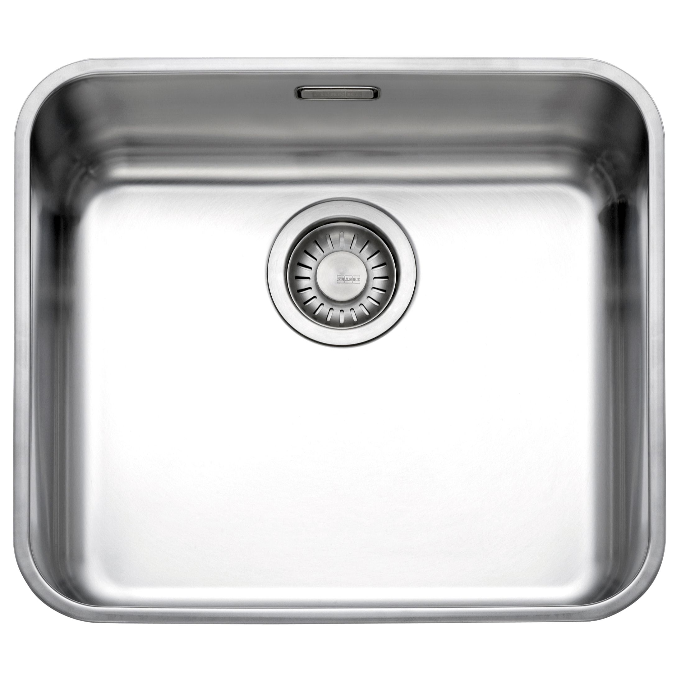 Franke Franke Largo LAX 110 45 Undermounted Single Bowl Sink, Stainless Steel