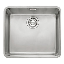 Buy Franke Kubus KBX110-45 Undermounted Single Bowl Sink, Stainless Steel Online at johnlewis.com
