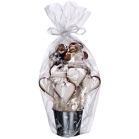 Buy Bride And Groom Gingerbread Bouquet Centrepiece, 500g Online at johnlewis.com