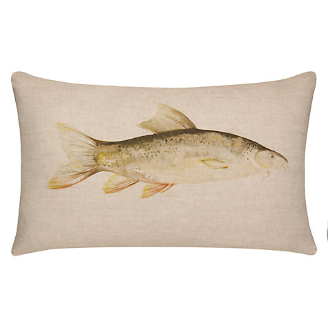 Buy Voyage Brown Trout Cushion Online at johnlewis.com
