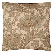 Buy William Morris Chrysanthemum Toile Cushion Online at johnlewis.com