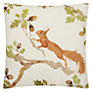 Voyage Playful Squirrel Cushion, Multi