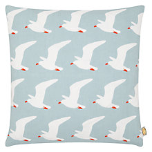 Buy Anorak Seagulls Cushion, Blue Online at johnlewis.com