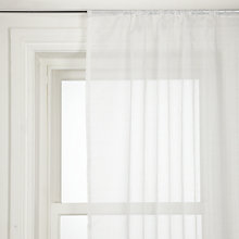 Buy John Lewis Shimmer Slot Headed Voile Panel Online at johnlewis.com